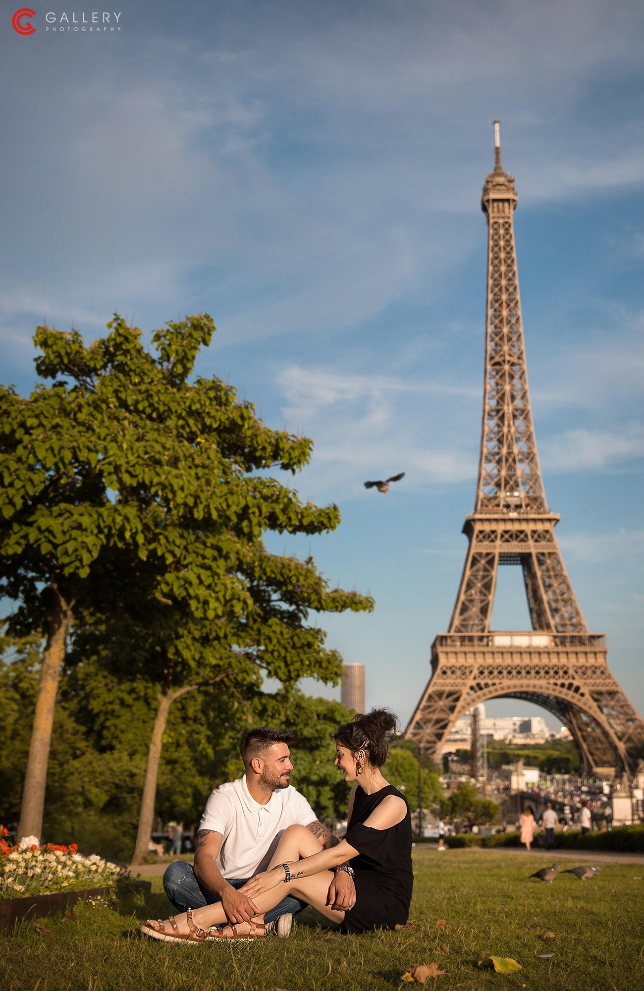 prewedding in paris